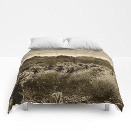Teddy Bear Cactus Comforters