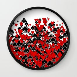 Poker Star Wall Clock