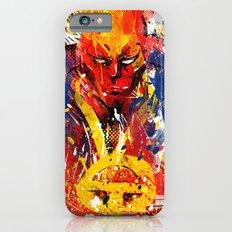 Red T Slim Case iPhone 6s