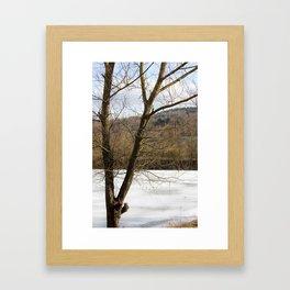 Frozen in Time (color) Framed Art Print