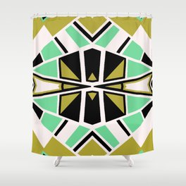 Geometric#608 Shower Curtain