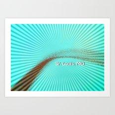 St. Louis Vibes Art Print