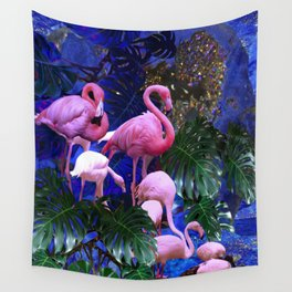 Pink Beauty Wall Tapestry