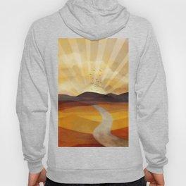 Desert in the Golden Sun Glow II Hoody