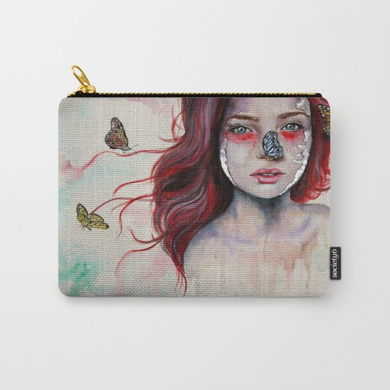 Where There Are Butterflies  Carry-All Pouch