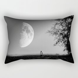 Moonscape Rectangular Pillow