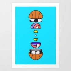Big Balls Art Print