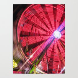 Spinning Your Wheels the ferris wheel carnival ride Poster