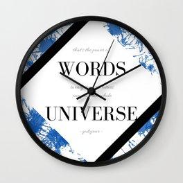 Godsgrave Wall Clock