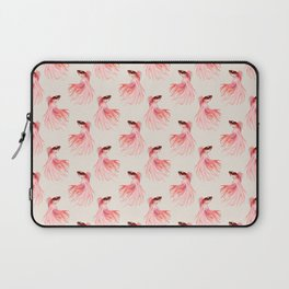 Betta splendens pattern Laptop Sleeve