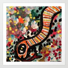 Slimey Art Print
