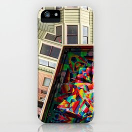 San Francisco home and mural iPhone Case