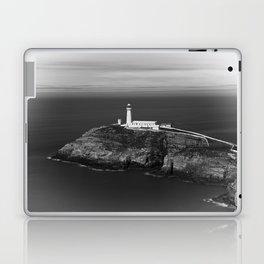 South Stack Lighthouse - Mono Laptop & iPad Skin