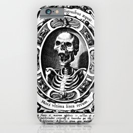 Death is the Last Line iPhone Case