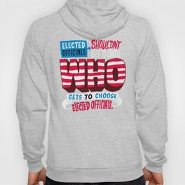 Voter Suppression Hoody