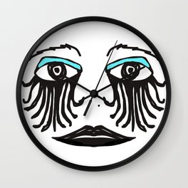 Gothic Face Wall Clock