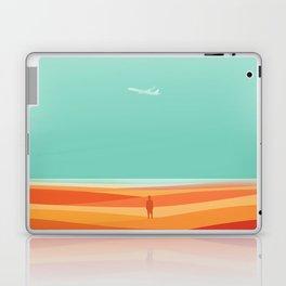 Where the sea meets the sky Laptop & iPad Skin