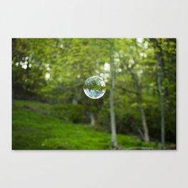 Summer Bubble Canvas Print