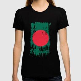 BD BGD Bangladesh Flag T-shirt