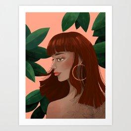 Havana Girl Art Print