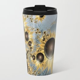 Sunflower morning Travel Mug