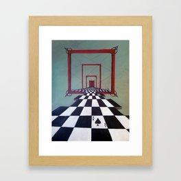 Mystic Door Framed Art Print