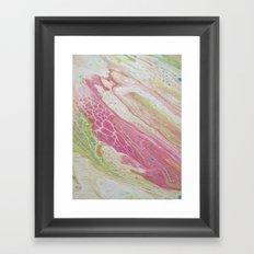pastel skin Framed Art Print