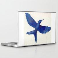 mockingjay Laptop & iPad Skins featuring Mockingjay Mockingjay by Blanca MonQnill Sole