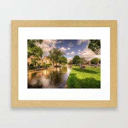 Bourton on the water Framed Art Print