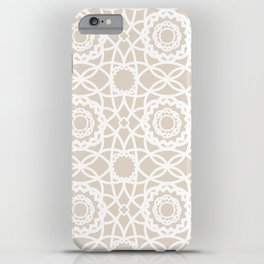 Palm Springs Macrame Lattice Lace iPhone Case