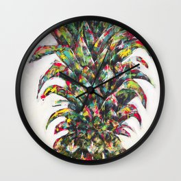 Pineapple no.3 Wall Clock