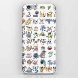 Pokémans! 151 Lazy-Drawn Pocket Monsters ( iPhone Skin