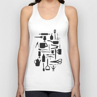 kitchen Tank Tops featuring Kitchen by ValD