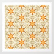 Golden Stars - 321 Art Print