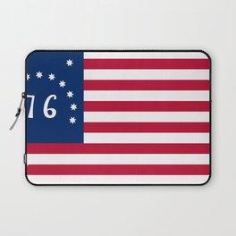 United States (Bennington '76) Flag Laptop Sleeve
