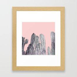 CACTI IV Framed Art Print