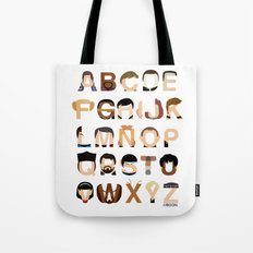 Star Trek Alphabet Tote Bag