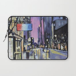 Evening Lights of the Burgh Laptop Sleeve