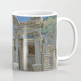 Ephesus. Ruins. Temple of Hadrian Coffee Mug