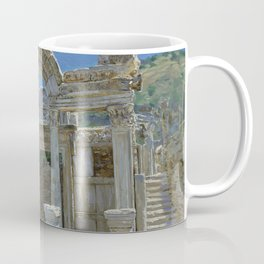 Ephesus. Ruins. Temple of Hadrian Coffee Mug