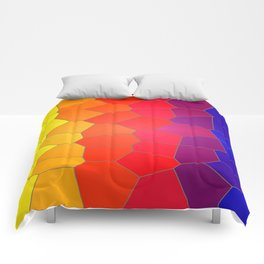 Coloured Mosaic Comforters