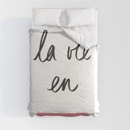 La Vie en Rose x Telma W. Comforters