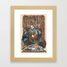 The Guardian of Bifrost Framed Art Print