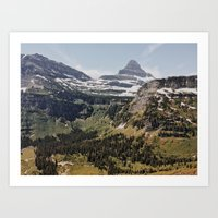 montana Art Prints featuring Montana  by Joe Greer