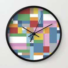 Map Close Wall Clock