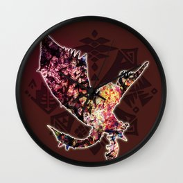 Rathalos Wall Clock