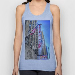 Radio City Music Hall New York Unisex Tank Top