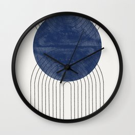 Blue Perfect Balance Wall Clock