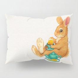 Tea Time Bunny Pillow Sham