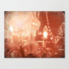 cinnamon chandelier Canvas Print